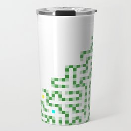 R Experiment 8 (Xmas hydra tree) Travel Mug