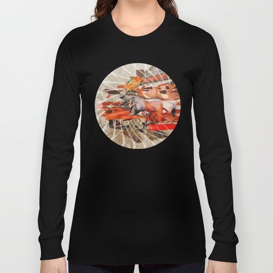 Vanishing Point Long Sleeve T-shirt