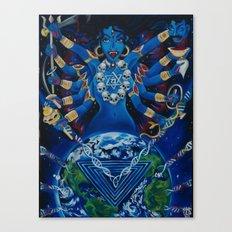 Kali Awakens Canvas Print