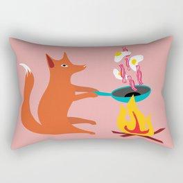 Foxy Cook Rectangular Pillow