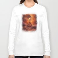 storm Long Sleeve T-shirts featuring Perfect storm. by Viviana Gonzalez