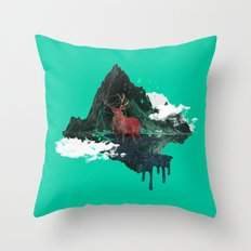 Planet#01 Throw Pillow