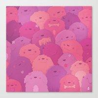 potato Canvas Prints featuring Potato Chips by Nandi Appleby