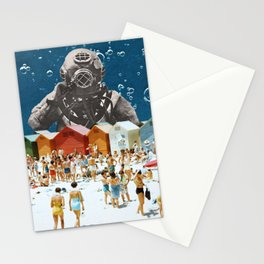 Diver's Delight Stationery Cards