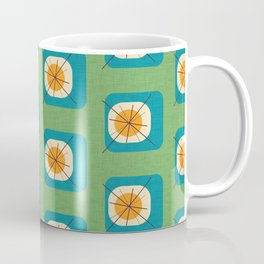 Flower Eggs Green Coffee Mug