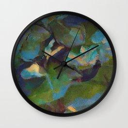 Dappled #botanical #nature #watercolor #society6 Wall Clock