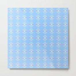 snowflake 10 For Christmas ! Metal Print