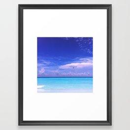 Nizuc Ocean Dreaming Framed Art Print