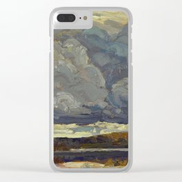 Tom Thomson Grey Sky 1914 Canadian Landscape Artist Clear iPhone Case