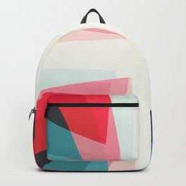 Four geometrical arrows Backpack