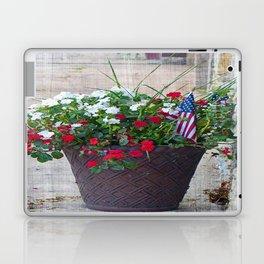 Flowers & Flags Laptop & iPad Skin
