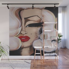 Baby Marilyn Wall Mural