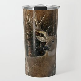 Deer - Birchwood Buck Travel Mug