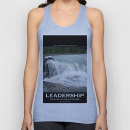 Athabasca Falls - Canadian Rocky Mountains Unisex Tank Top