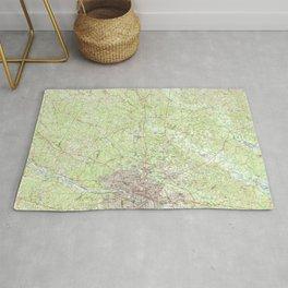 VA Richmond 188798 1984 topographic map Rug