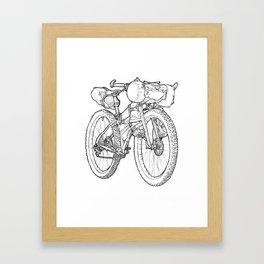 Packed Up Framed Art Print