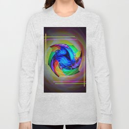 Abstract in perfection - Cube 5 Long Sleeve T-shirt
