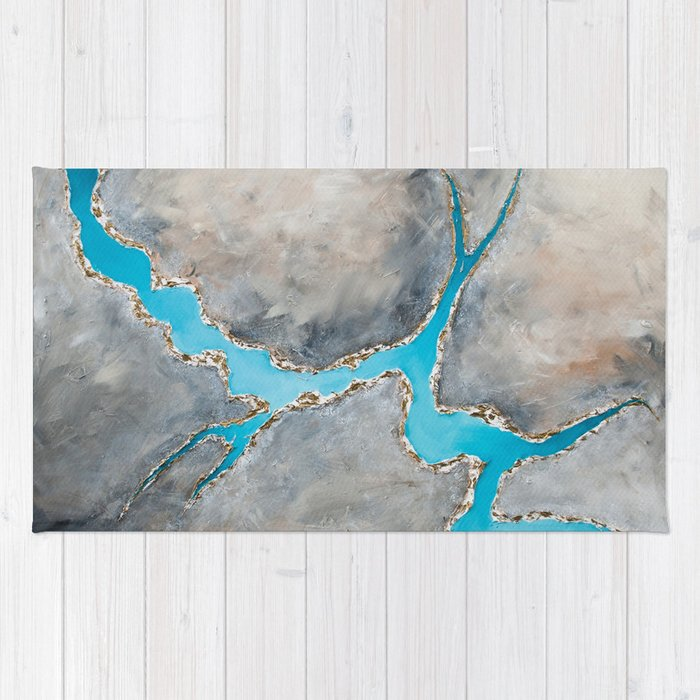 Sedimentary Topography Extended 2 Rug