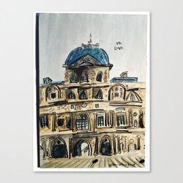 Musée du Louvre Canvas Print