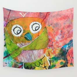 Mr. Grumpy Pants - Quirky Bird Series Wall Tapestry
