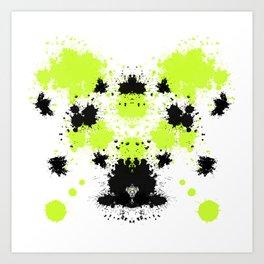 Rorsch 3 Art Print