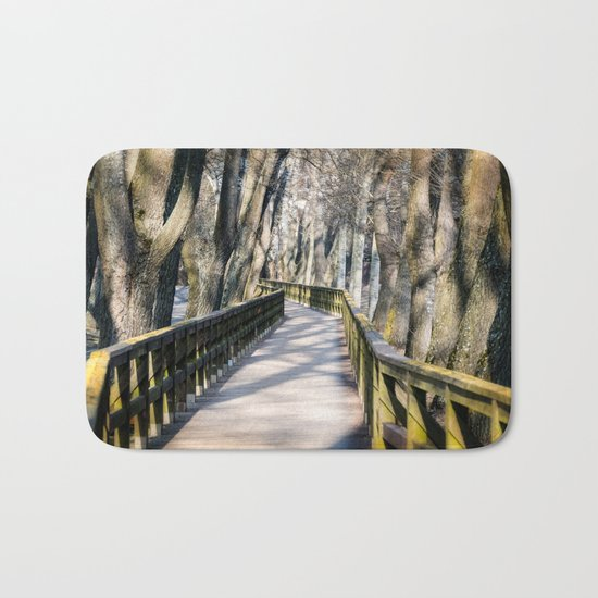 the bridge Bath Mat