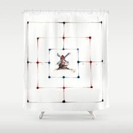 Merels Shower Curtain
