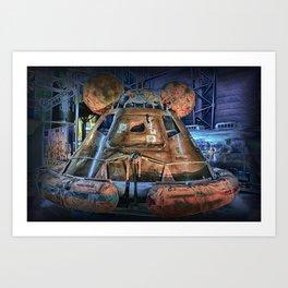 It's Space Time - Apollo Art Print