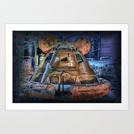 It's Space Time - Apollo Art Print