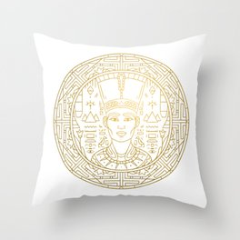 Pharao Mandala – Egypt Throw Pillow