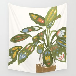 Scandinavian Plant Wall Tapestry
