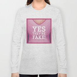 Breast Cancer Awareness & Support Long Sleeve T-shirt