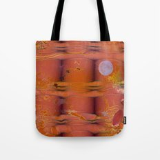 ABSTRACT - Migratory Cranes Tote Bag