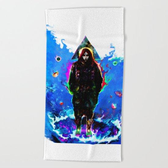 libra... Beach Towel