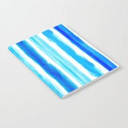Laird Blue Stripes Notebook