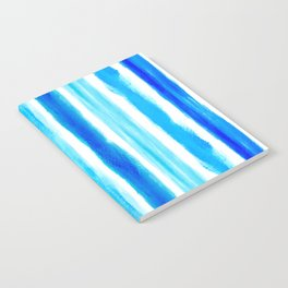 Laird Blue Stripes Notebook