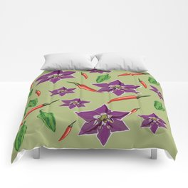 Chili Peppers Comforters