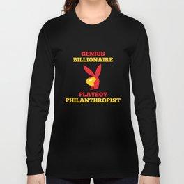 Genius Billionaire Playboy Philanthropist Long Sleeve T-shirt