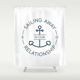 RelationShip 2 Shower Curtain