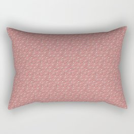 The great Sperm migration on pink Rectangular Pillow