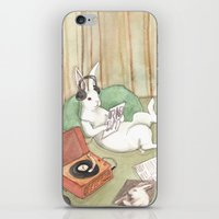 vinyl iPhone & iPod Skins featuring Vinyl by Bluedogrose