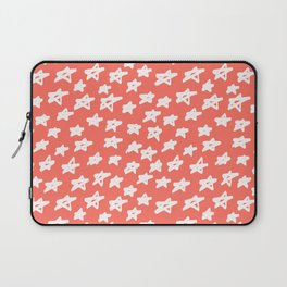 Stars Living Coral Laptop Sleeve