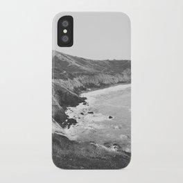 CALIFORNIA COAST VII / Mori Point, CA iPhone Case