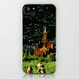 Star Map iPhone Case