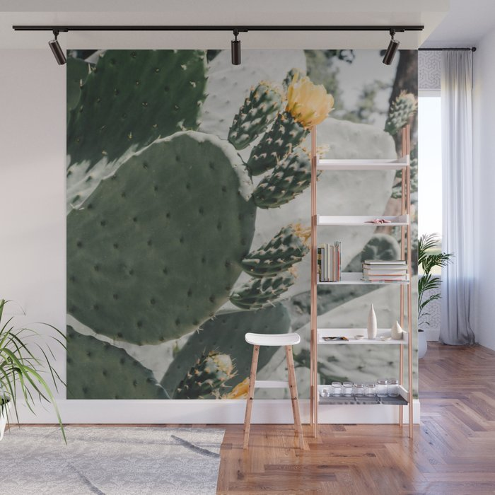 flowering cactus i Wall Mural