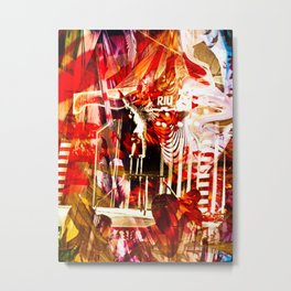 """""""Circus Dayz: Remixed"""" Metal Print"""