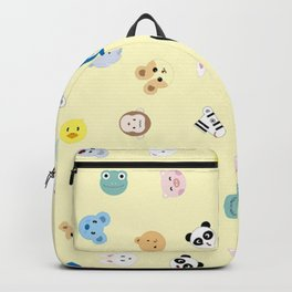 Cute Chibi animals pattern Backpack