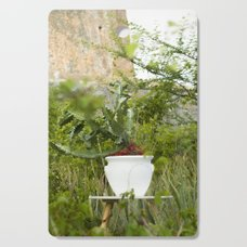 Greenery Cutting Board