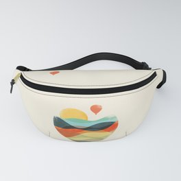 Let the world be your guide Fanny Pack