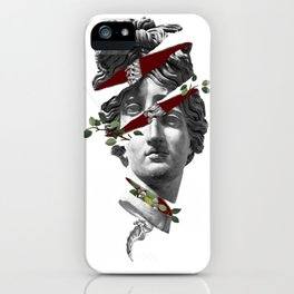 Greek Head iPhone Case